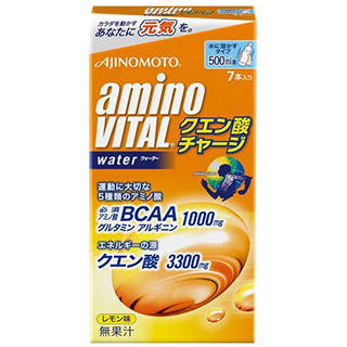 Amazon | アミノバイタル クエン酸チャージウォーター 7本入箱 (102010)