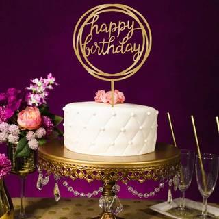 Amazon|SODIAL ケーキウェディング誕生日のケーキトッパーカード (102068)