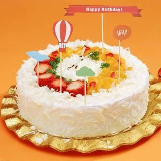 Amazon | BESTONZON ケーキトッパー ケーキデコレーションケーキピック (102076)