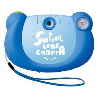 Amazon | KIDS デジタルカメラ ブルー (103728)