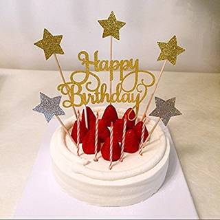 Amazon|AMAA 誕生日 ケーキトッパー (104076)