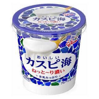 Amazon | グリコ おいしいカスピ海 生乳たっぷり 400g 6個 (105481)