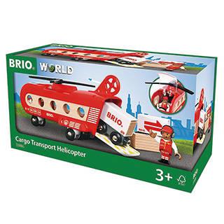Amazon | BRIO WORLD カーゴヘリコプター (106391)