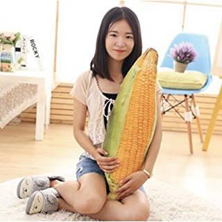 Amazon | HYAKURI 野菜シリーズ トウモロコシ 玉蜀黍 クッション (106507)