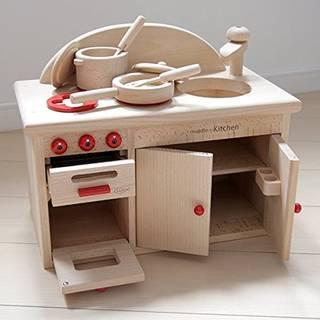 Amazon | 木製おもちゃのだいわ ミドル キッチンセット (106862)