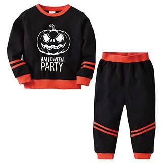 Amazon | MaxLindy キッズ服 ハロウィン衣装 スウェットセットアップ (107123)