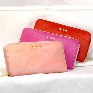 【楽天市場】【高級本革長財布】財布 ファスナー付き (107300)