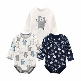 Amazon | Baby Nest 長袖ボディースーツ 3枚セット (107516)