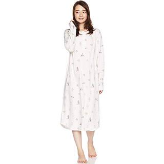 Amazon | [ジェラート ピケ] アニマルファクトリー柄ドレス (107665)