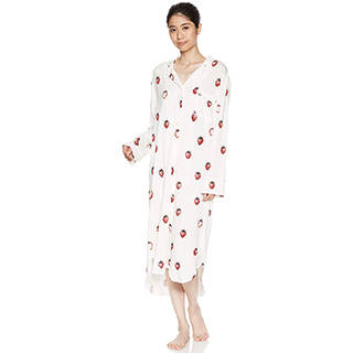 Amazon | [ジェラート ピケ] いちご柄ドレス (107666)