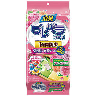 Amazon | アース製薬 ピレパラアース 防虫剤 柔軟剤の香り フローラルソープ (108849)