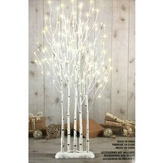 Amazon | LED BIRCH TWIG TREES 1.3m クリスマスツリー 白樺 LED (108880)