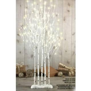 Amazon   LED BIRCH TWIG TREES 1.3m クリスマスツリー 白樺 LED (108880)