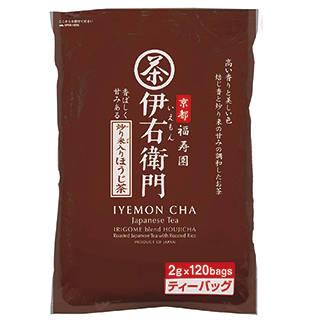 Amazon | 宇治の露 伊右衛門 炒り米入りほうじ茶 ティーバッグ (109399)