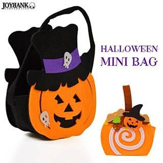 Amazon | ハロウィン かぼちゃ フェルト バッグ (109551)