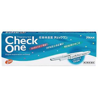 Amazon | 【第2類医薬品】チェックワン 2回用 (110251)