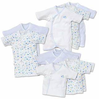 Amazon | 西松屋 [EFD] 新生児肌着10点セット【新生児50-60cm】 (110401)