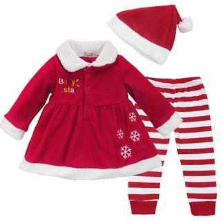Amazon.co.jp:FEESHOW クリスマスコスチューム (110498)