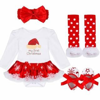 Amazon.co.jp:iiniim 赤ちゃん クリスマス ロンパース (110505)