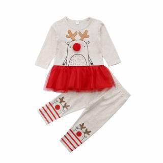 Amazon | Laraandlory クリスマス ベビー服 子供服 (110518)