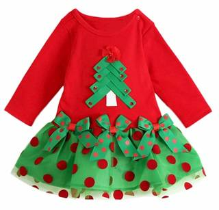 Amazon | Nice Days クリスマス 女の子ドレス (110524)