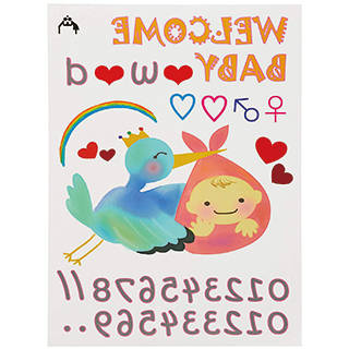 Amazon | Baby-Purima【マタニティペイントシール】マタニティフォト用 ボディシール (111011)