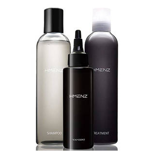 Amazon |HMENZ メンズ スカルプシャンプー & トリートメント & 育毛剤 (112168)