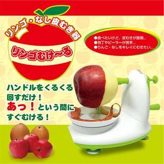 Amazon.co.jp : りんご ・ なし 皮むき器 りんごむけ~る (112200)