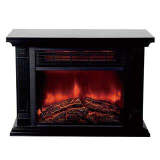 Amazon | 暖炉型ファンヒーター HD-100BK (112513)