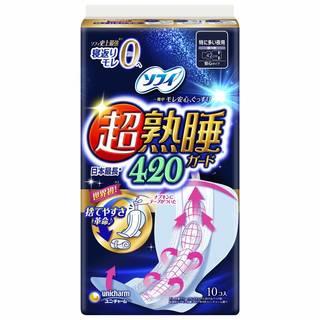 Amazon:ソフィ 超熟睡ガード 420 (113615)
