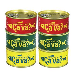 Amazon | [6缶] 国産さばアソート (113821)