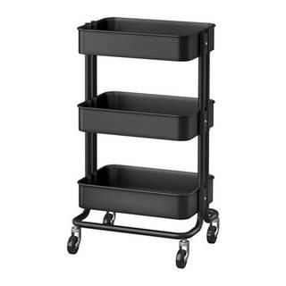 Amazon|☆2016☆NEW☆ IKEA RASKOG ワゴン ブラック (114565)