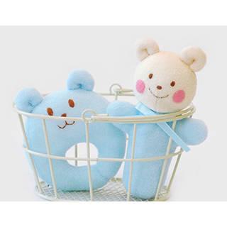 Amazon.co.jp | がらがら&にぎにぎ くまさん パイル生地で作る綿付き 手作りキット (116992)