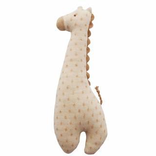 Amazon | 赤ちゃんのおもちゃとしてお勧め!オーガニックコットン キリンガラガラ (116994)