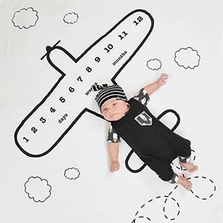 Amazon | フォトシーツ 赤ちゃん用 飛行機柄 マンスリーフォト (117407)