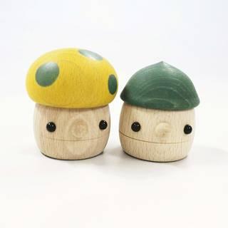 Amazon | おもちゃのこまーむ 木のおもちゃどんぐりセット (124179)