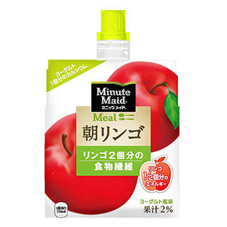 Amazon | コカ・コーラ ミニッツメイド 朝リンゴ ゼリー飲料 パウチ 180g×6個 (124204)