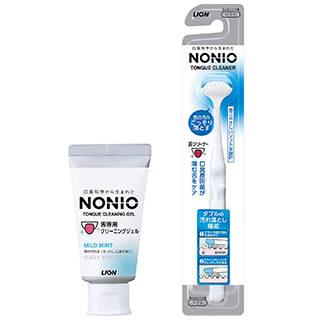 Amazon | NONIO 舌クリーナー+舌専用クリーニングジェル (124539)