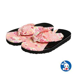 【楽天市場】浴衣サンダル(花柄・ピンク)【16.5cm・18cm・19.5cm】 (125386)
