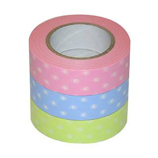 Amazon | ナカバヤシ マスキングテープ d tape 印刷柄和紙3本パック (125665)