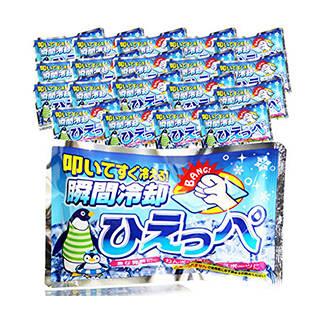 Amazon | 日本製 瞬間冷却パック ひえっぺ 【まとめ買い20個セット】 (126849)