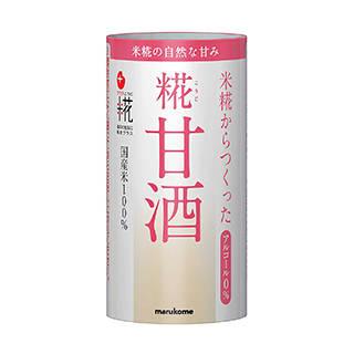 Amazon | マルコメ プラス糀 米糀からつくった糀甘酒 【国産米100%使用】 125ml×18本 (126999)