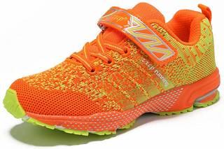 Amazon | [ZXCP] キッズシューズ 運動靴 通学履き 男の子 女の子 (127976)