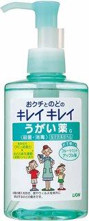 Amazon | 【指定医薬部外品】キレイキレイ うがい薬 フルーツミント アップル味 200ml  (128889)