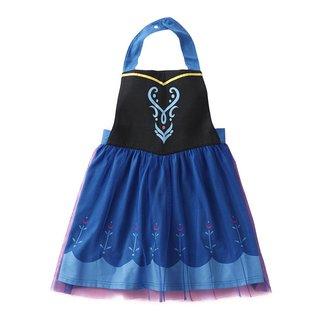 Amazon | [ベルメゾン] ディズニー エプロン ドレス プリンセス キッズ 女の子 アナ (129874)