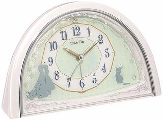 Amazon.co.jp: セイコー クロック 目覚まし時計 アナと雪の女王 アナログ  (130362)