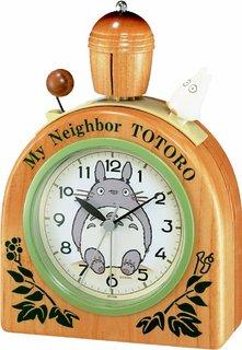 Amazon.co.jp: CITIZEN シチズン となりのトトロ 目覚まし時計  (130363)
