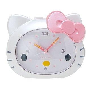 Amazon | ハローキティ キティの声で起こしてくれる目覚まし時計 (130365)