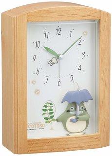 Amazon.co.jp: となりのトトロ 目覚まし時計 オルゴールメロディ付き (130381)