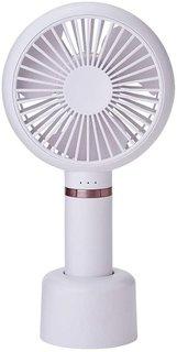 Amazon | コイズミ 携帯扇風機 ハンディファン 手持ち/卓上両用  (131384)